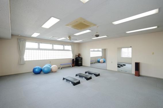 当院2階 運動療法室